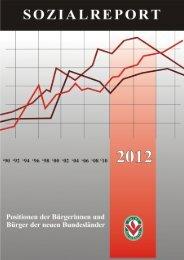 Sozialreport 2012 - (SFZ) e.V.