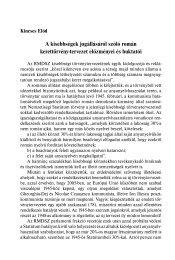 A kisebbségek jogállásáról szóló román kerettörvény-tervezet ...