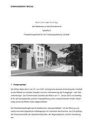 Freiraumgestaltung Vorstadt - Brugg