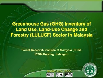 GHG Inventory of LULUCF Sector in Malaysia [PDF: 894KB] - GIO ...