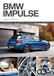 BMW Impulse Frühling/Sommer 2013 (pdf) - Christian Jakob AG
