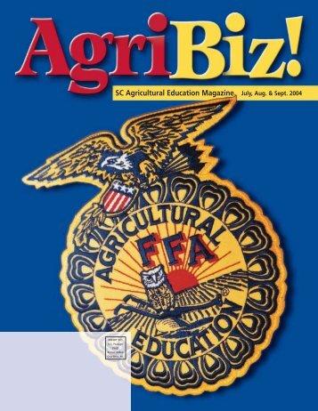 July, Aug., Sept. - South Carolina Agricultural Education