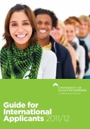 Guide for International Applicants 2011/12 - Insight – University of ...