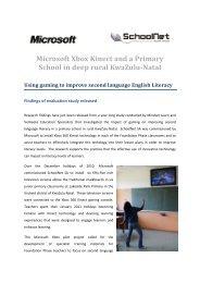 Xbox - SchoolNet South Africa