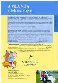 Családi üdülés a szabadság jegyében - VILA VITA Pannonia - Page 6