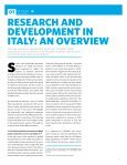 RESEARCH IN ITALY - Innova - Page 5