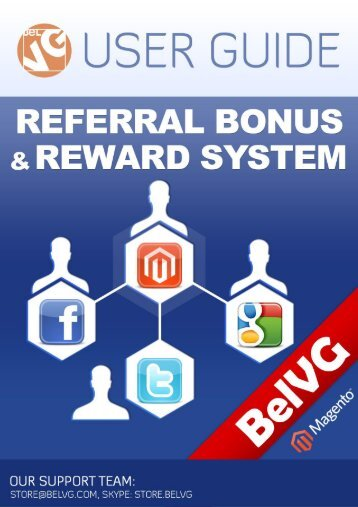 Referral Bonus and Reward System - BelVG Magento Extensions ...