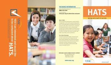 HATS brochure - Universal Service Administrative Company
