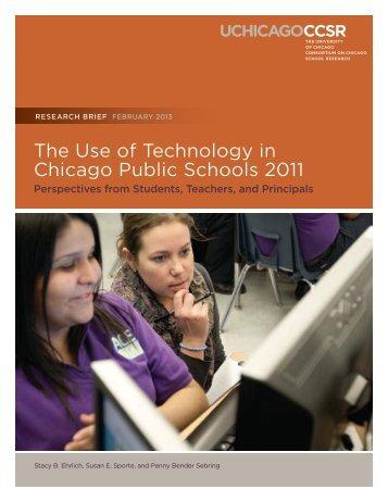 February 2013 report - UChicago Consortium on Chicago School ...