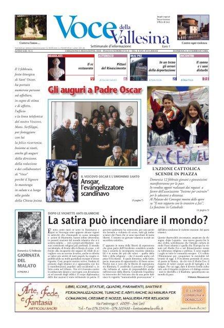 L Insalata Sotto Il Cuscino Pdf.Scarica L Intero Giornale In Formato Pdf Voce Della Vallesina