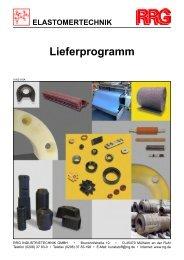 Katalog Elastomer - RRG Industrietechnik GmbH