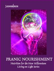 Pranic Nourishment – Nutrition for the New ... - Baytallaah.com