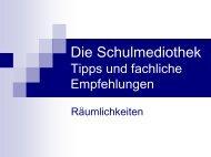 Die Schulmediothek - IMeNS - Lahn-Dill-Kreis