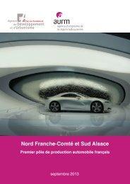 Nord Franche-Comté et Sud Alsace : premier pôle de ... - ADU