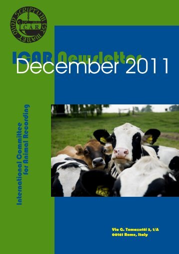 ICAR Newsletter - December 2011