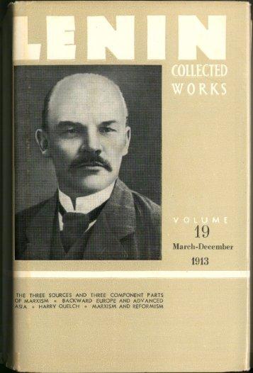 Lenin CW-Vol. 19-TC.pdf - From Marx to Mao