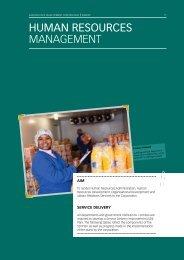 Human Resources - Eastern Cape Development Corporation