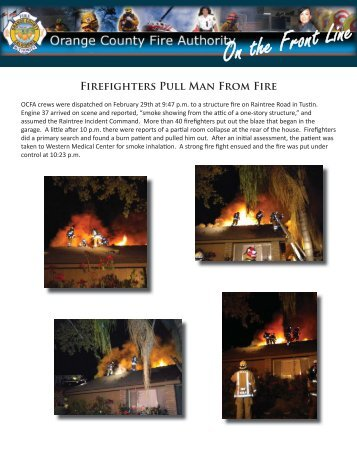 April 2012 News.indd - Orange County Fire Authority