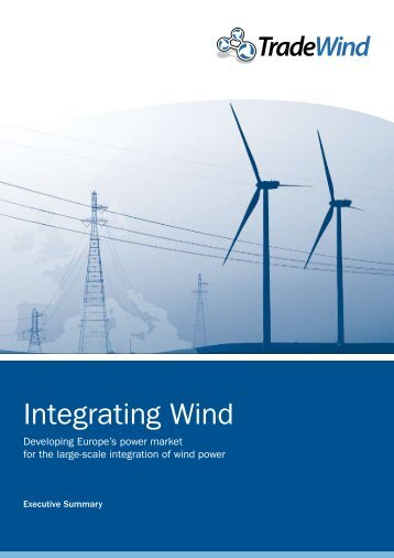 Integrating Wind, Executive Summary - TradeWind