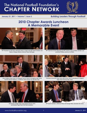 Volume 7, Issue 2 - National Football Foundation