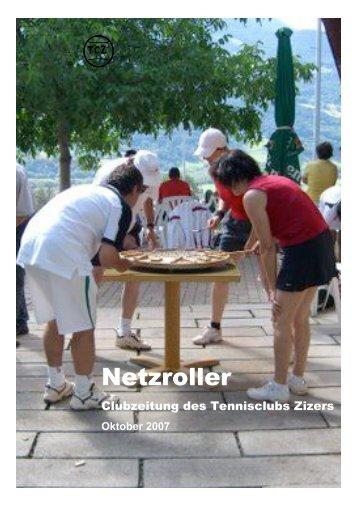 Ausgabe Oktober 2007 (PDF-Datei) - Tennisclub Zizers