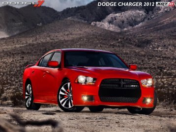 DODGE CHARGER 2012 - Chrysler Canada