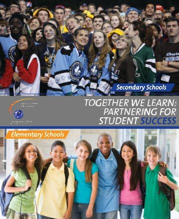 together we learn - Lester B. Pearson School Board