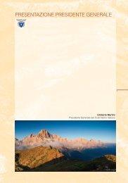 presentazione presidente generale - Club Alpino Italiano – Comitato ...