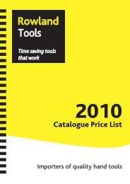 Roland Tools - F R Scott Ltd