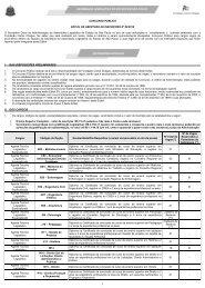 Edital Nº 02 de 2010 - Abertura de Inscrições - ALSTA - ATL - ATLE