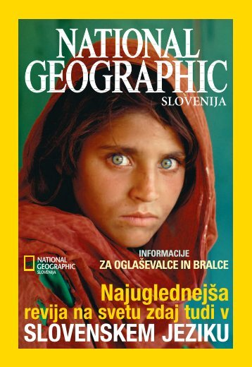 SLOVENSKEM JEZIKU - National Geographic