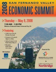 2008 economic summit (pdf) - West Hills Neighborhood Council