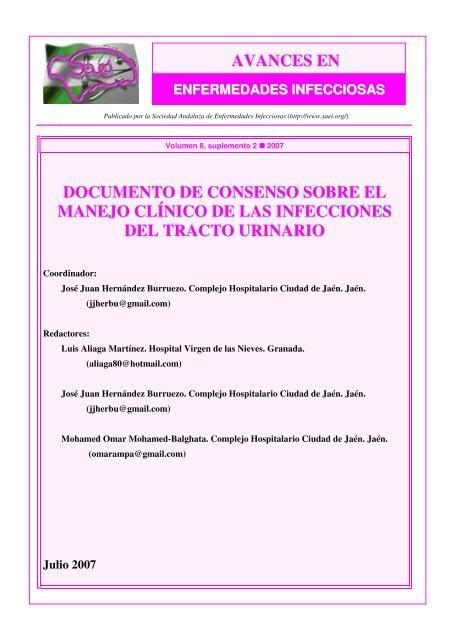 pautas de uretritis monurol