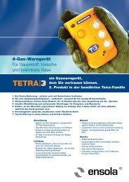 PDF: Datenblatt Tetra3_D - Ensola AG