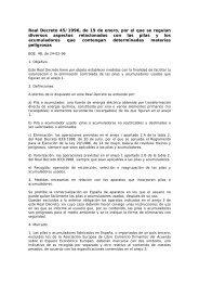 Real Decreto 45/1996, de 19 de enero, por el que se regulan ... - Ainia