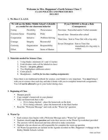 Homework help in ridley school district