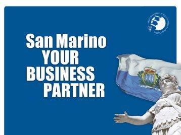 "pdf presentation ""San Marino, your business partner"" - Italy-America ..."
