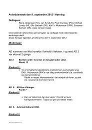 Avlsrådsmøde den 09.09.12 med rettelser til Ref. 05.07.12