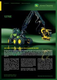 John Deere 1270E – Der begehrteste Universalharvester der Welt