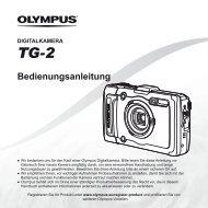 Bedienungsanleitung TG-2 - Olympus