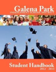 Student Handbook (English) (2012-2013).pdf - Galena Park ISD ...