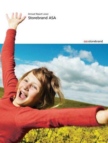 Annual Report 2007 PDF - Storebrand