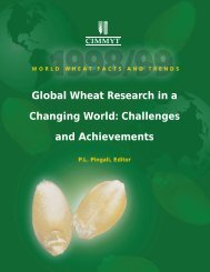 WORLD WHEAT FACTS AND TRENDS Global Wheat Research in a ...