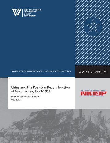 China and the Post-War Reconstruction of North Korea, 1953-1961