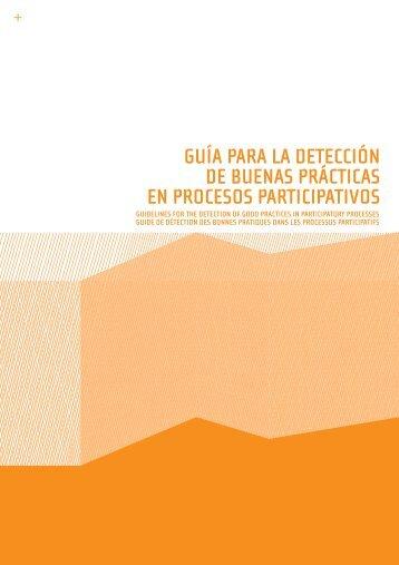 GUíA PARA LA DETECCIóN DE BUENAS PRáCTICAS EN ...