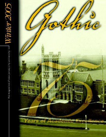 Fall 2004 Gothic LO - New Jersey City University