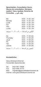 Information Humanitäre Sprechstunde - Gesundheitsamt Bremen - Seite 4