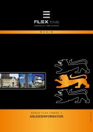 ANLEGERINFORMATION - FLEX Fonds-Capital AG