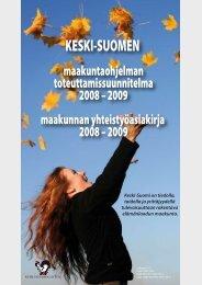 toteuttamissuunnitelma - Keski-Suomen liitto