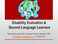 ELL AM Session - Malheur Education Service District